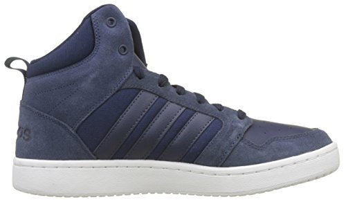 collegiate Collegiate Navy raw S18 Bleu Hoops Adidas Super Navy collegiate Homme Cloudfoam Hautes Baskets Grey S18 Mid 8xw4Fq