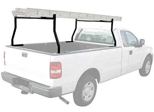 650 LB 2-BAR ADJUSTABLE TRUCK LADDER RACK PICK UP UNIVERSAL LUMBER KAYAK UTILITY by Unknown