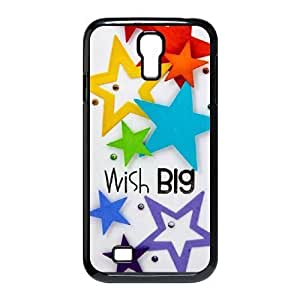 Beautiful stars Brand New Cover Case with Hard Shell Protection for SamSung Galaxy S4 I9500 Case lxa#465899