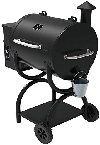 Z GRILLS ZPG-550A 2020 New Model Wood Pellet Grill Smoker 6