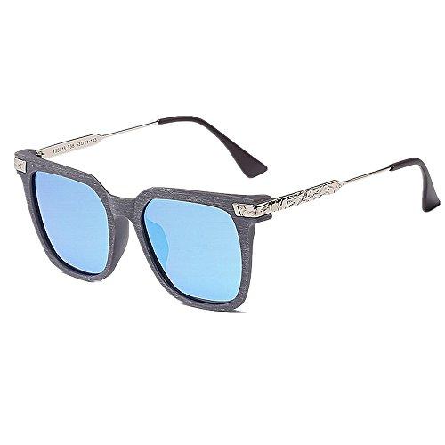 Les Yxsd de d'hommes Vacances Lunettes Vintage Polarisées de Soleil Femmes pour Protection Blue Soleil Lunettes de UV400 voyageant Blue des Conduire Concepteur Couleur pour wqFfxqXP