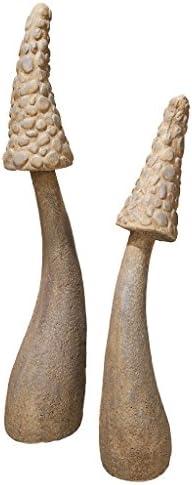Mushroom Garden Statue