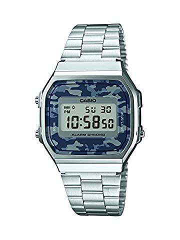 Watch Casio Collection A168wec-1ef Unisex Multicolour - Oro Grigio Dial