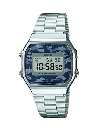 Casio Collection – Reloj para hombre con correa de acero inoxidable