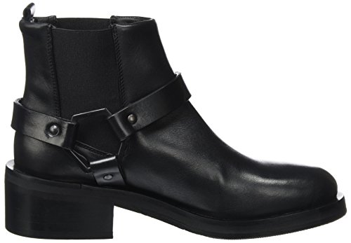 Biker Republiq Donna Stivaletti nero District Boot Nero Royal x7RAIwz6qI