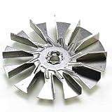 Fan Blade, 3.25'' Dia, 12 Blades