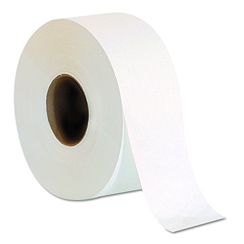 - Georgia Pacific Professional 13718 Jumbo Jr. One-Ply Bath Tissue Roll, 9