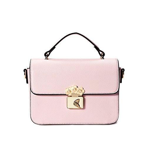 Miyoopark - Bolso estilo cartera de Material Sintético para mujer rosa