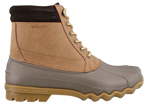Sperry Boot Top Dark Men's Tan Sider Brewster Rain q7qWpnw4rx