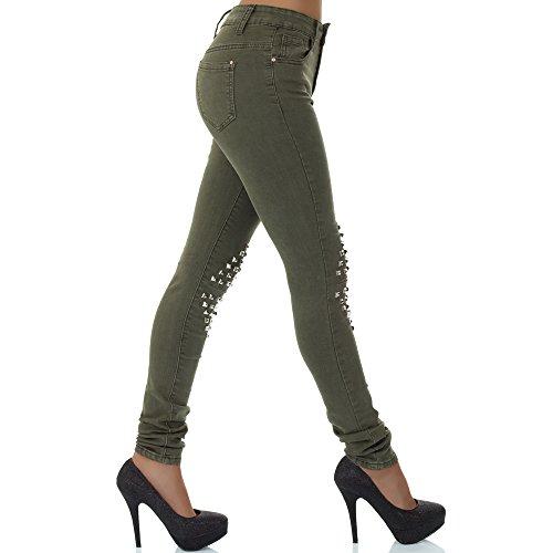 caqui Skinny Vaqueros Mujer malucas para wA0IPdx