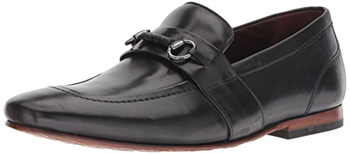 Ted Baker Men's Daiser Loafer, Black Leather, 9 M Us