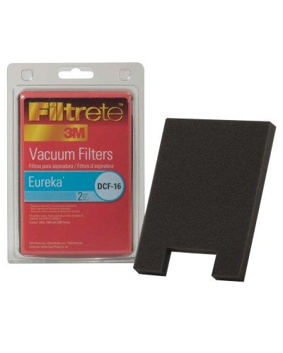 Filtrete Eureka DCF-16 Filter, 2 foam Filters Per Pack - Eureka Foam Filter