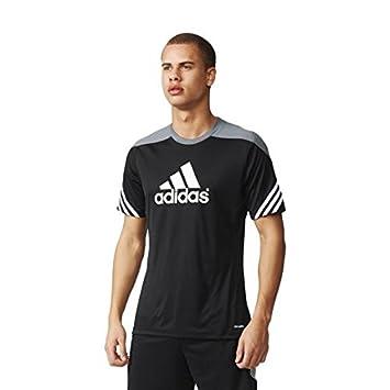 c5961307820 adidas SERE14 TRG JSY - T-Shirt for Men, 3XL, Black: Amazon.co.uk ...