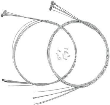 XLX - 10 cables de freno para bicicleta eléctrica de 1,77 mm, tipo ...