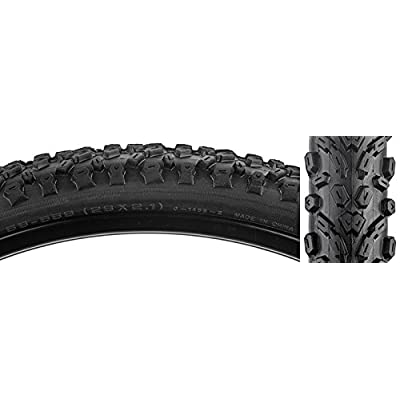 SUNLITE Chicopee CST1455 Tires, 26 x 2.1, Black/Black Skin : Sports & Outdoors
