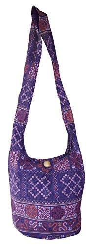 Gah-gah - For Black Shoulder Bag Purple Black Woman M