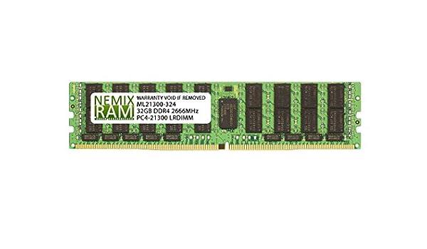 NEMIX RAM 32GB DDR4-2666 2Rx4 LRDIMM for Intel R2312WTTYSR