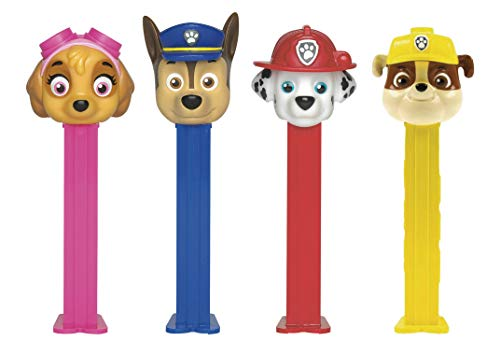 (Pez Candy Dispensers - Paw Patrol Dispenser Set: Chase, Skye, Marshall and Rubble (4 Dispenser Set) )