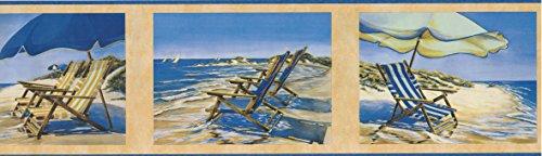 Wallpaper Border - Nautical Prepasted Wall Border 31602150
