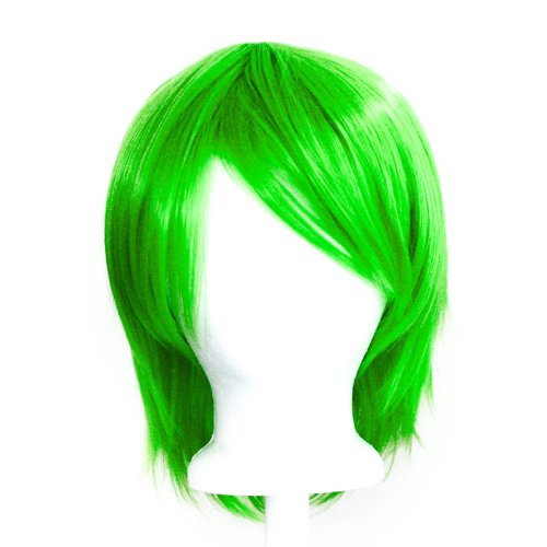 Lime Green Wig