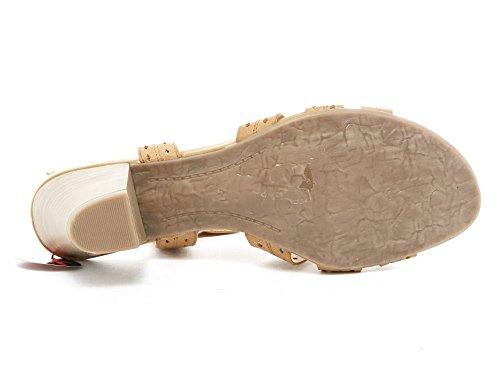 Marco Tozz - Sandalias de vestir para mujer marrón marrón marrón