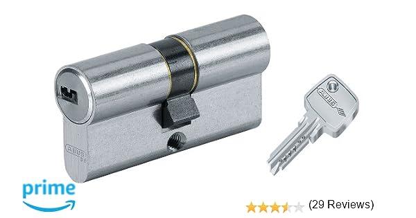 Abus 27069 - Cilindro de la puerta con llave, 30x35 mm, plateado: Amazon.es: Bricolaje y herramientas