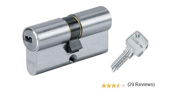 Abus D6PS - Cilindro de la puerta con llave, 30x70 mm, plateado: Amazon.es: Bricolaje y herramientas