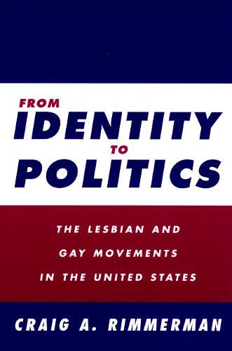 From Identity To Politics: Lesbian & Gay Movements In The U.S. (Queer Politics Queer Theories)