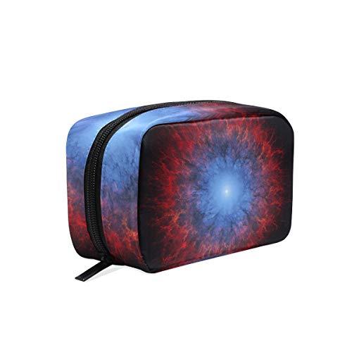 Makeup Bag Cosmetic Pouch Clutch Art Artistic Futuristic Science Space Fantasy Artw ()