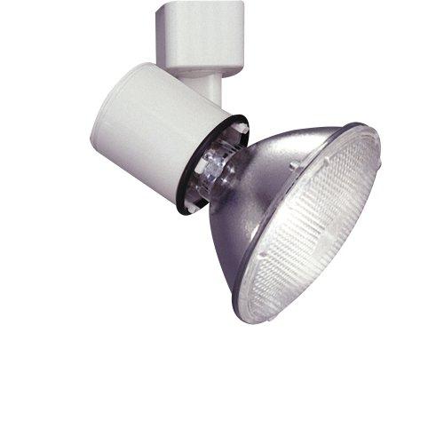 PLC Lighting TR200 BK Track Lighting Lamp Holder Comet-I Collection, Black Finish