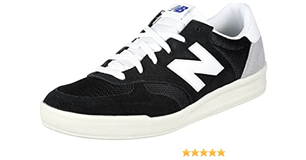 primer ministro plataforma propiedad  New Balance Men's 300 Suede Trainers, Black, 11.5 US | Fashion Sneakers -  Amazon.com