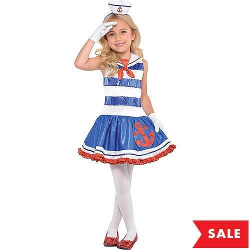 Amazon.com: HollyDel - Disfraz de marinero con diseño de ...