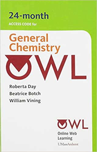 Owl 24 months printed access card for general chemistry cengage owl 24 months printed access card for general chemistry 3rd edition fandeluxe