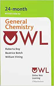 Owl 24 months printed access card for general chemistry cengage owl 24 months printed access card for general chemistry cengage 9780495384410 amazon books fandeluxe Gallery