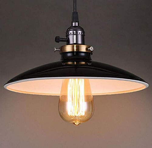 (WenMing Ceiling Lights Lamps Chandeliers Pendant Light Fixtures Retro Lichtvintage Pendant Light in Russet E27 for Loft Restaurant Kitchen for Bedroom Living Room Kitchen Aisle Restaurant Bar Cafe)