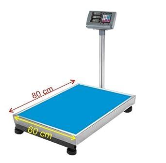 balanza,bascula de plataforma 80*60cm, 800 kg: Amazon.es: Industria, empresas y ciencia