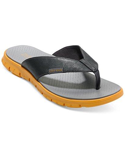 Cole Mens Haan Zerogrand Sandalo Infradito Grigio Scuro