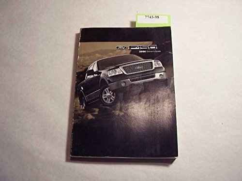 2008 Ford F-150 F150 Truck Owners Manual