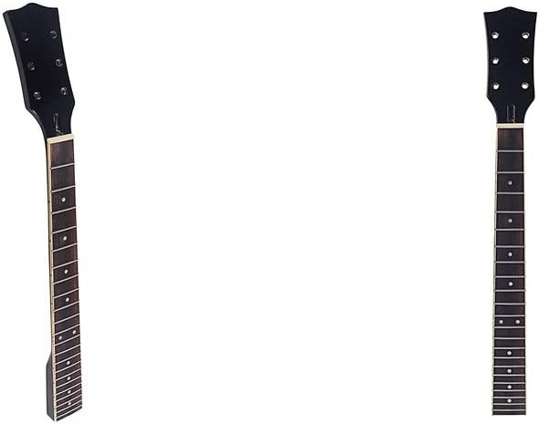CUTICATE Punto de Incrustación de Cuello de Guitarra de Arce Fino de 2 Piezas para Reemplazo de Guitarra Eléctrica