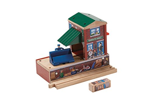 Shed Thomas And Friends - Fisher-Price Thomas & Friends Wooden Railway, Tidmouth Station