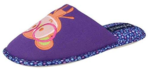 de Violet Femme EU Aubergine Chaussons 41 40 fonseca pour nOHZq