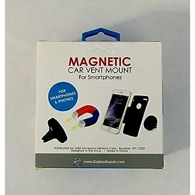 GabbaGoods Magnetic Car Vent Mount for Smartphones: GPS & Navigation
