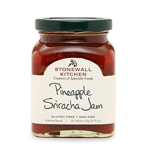 Stonewall Kitchen Pineapple Sriracha Jam, 11.75 ounces ()