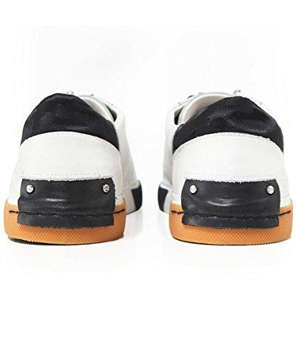 Crime Sneaker Uomo Bianco Bianco Tempesta in Pelle London Er5Y7nqHE