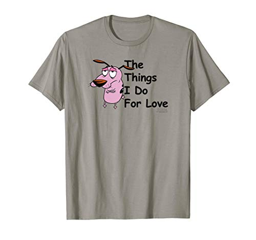 Courage the Cowardly Dog For Love T-Shirt