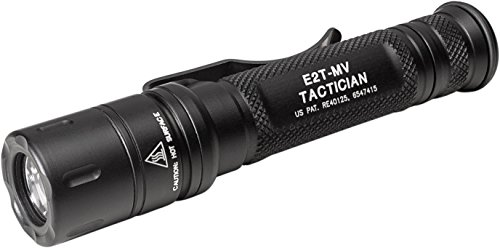 SureFire Tactician High-Output LED Flashlight with Maxvision, Black