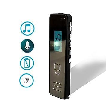 Reproductor Mp3 Digital Profesional con grabadora de Voz ...