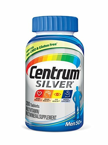 Centrum® Silver® Men's - 250 tablets (Best Vitamins For Women Over 50 Years Old)