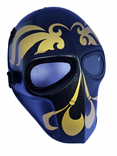 Invader King Tigger Airsoft Mask & Paintball Mask Protective Gear Outdoor Sport Fancy Party Ghost Masks Bb (Tigger Mask)