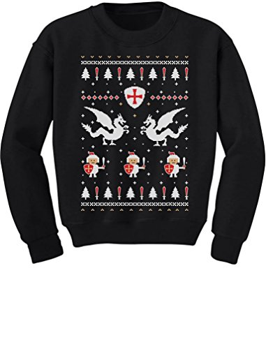 Knights & Dragons Ugly Christmas Sweater